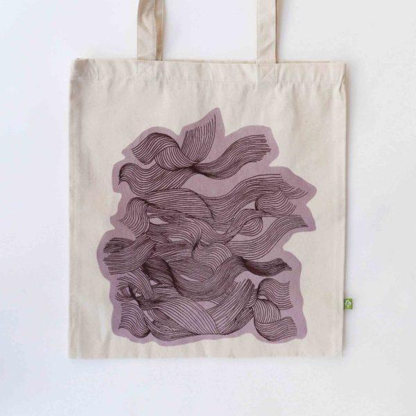 Headwind lilac totebag
