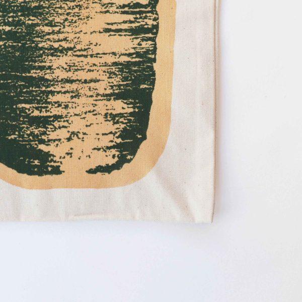 Green balance tote bag
