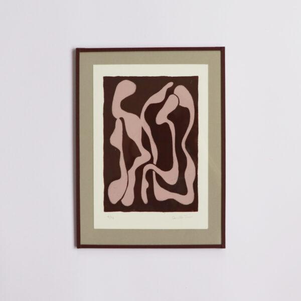Composition 1 – Linocut